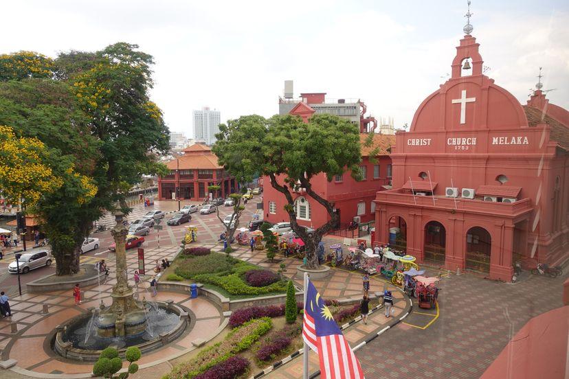 Малакка / Мелака - португальский порт в китайской Малайзии