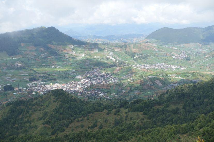 Плато Диенг, Центральная Ява, Индонезия