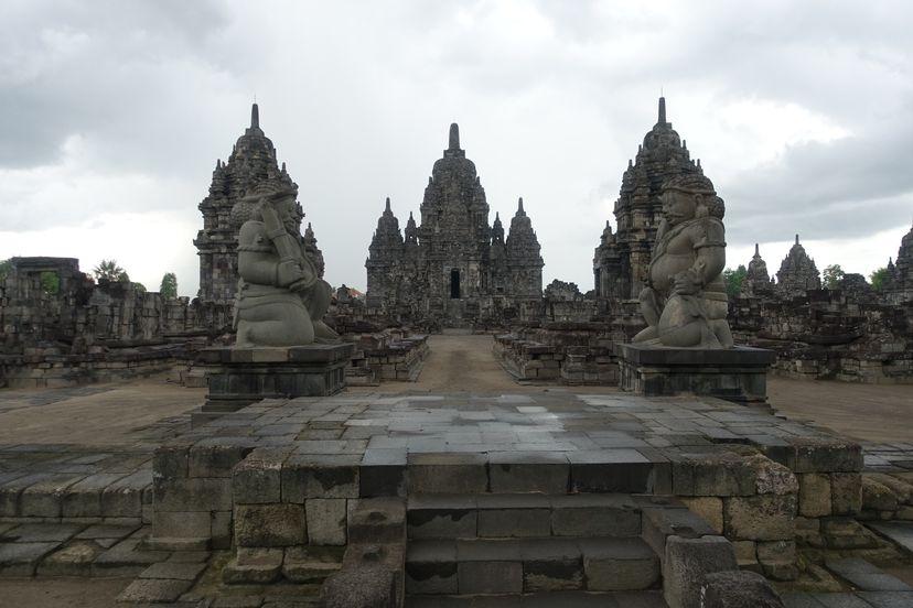 Прамбанан - индуистский храмовый комплекс на Яве, Индонезия