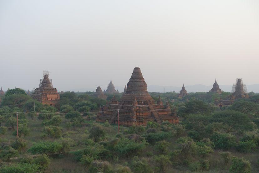 Баган (Паган), Мьянма - самый большой храмовый комплекс в мире