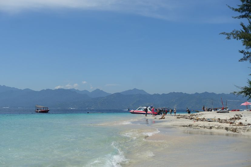 Острова Гили, Ломбок, Индонезия - Траванган, Мено и Эйр