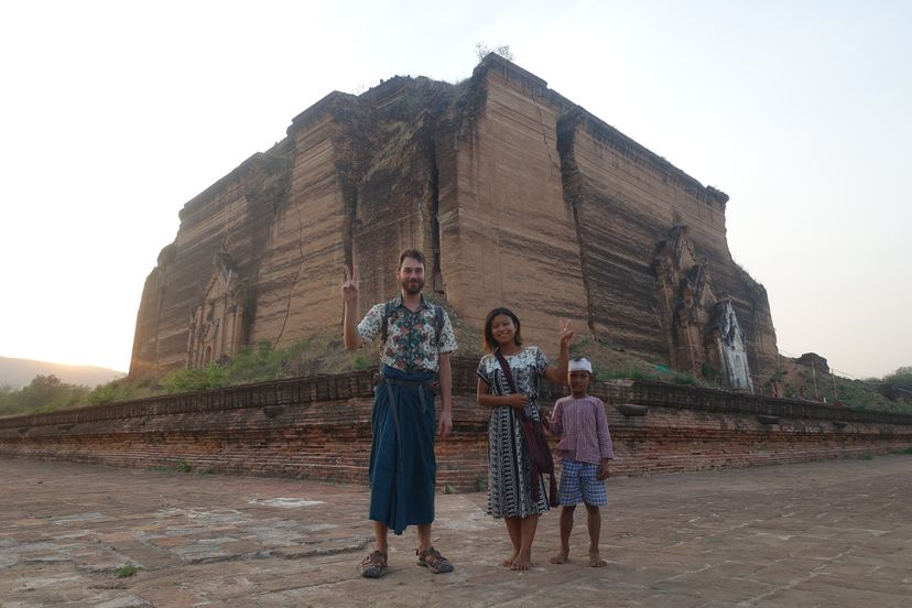 Сагайн и Мингун, Мьянма