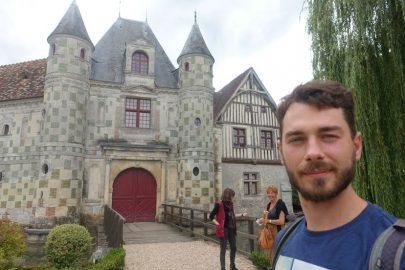 Замок в Нормандии.