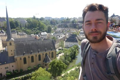 Люксембург селфи
