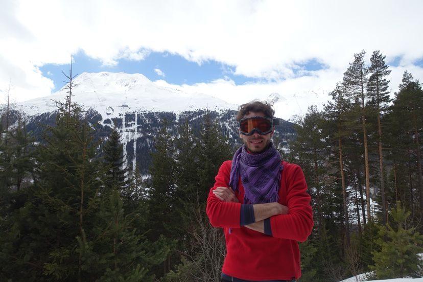 зимний поход в Австрийских Альпах