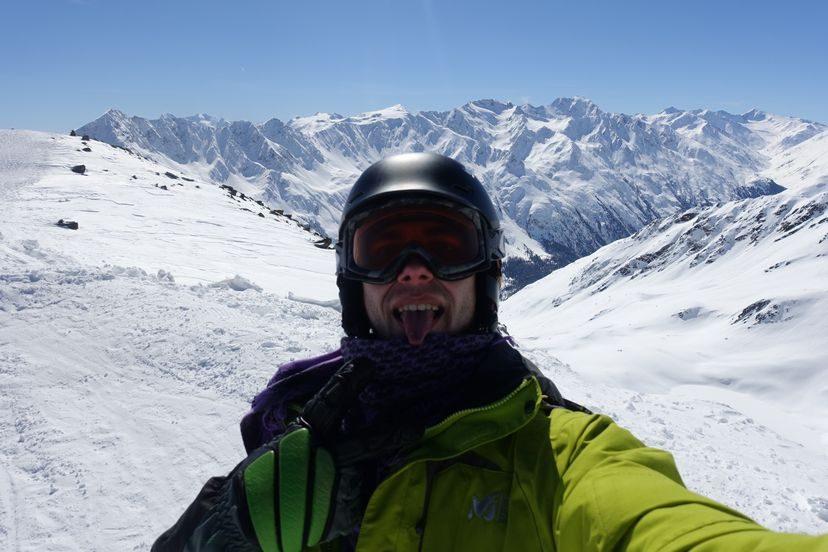 Австрия Альпы