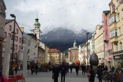 Инбсрук Альпы Австрия