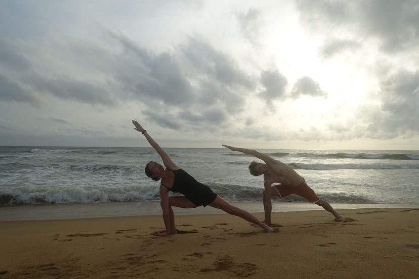 йога на Шри-Ланке