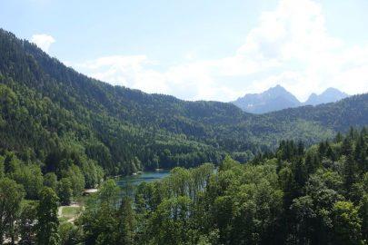 Альпы в Германии летом.