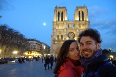Путешествие в Париж.