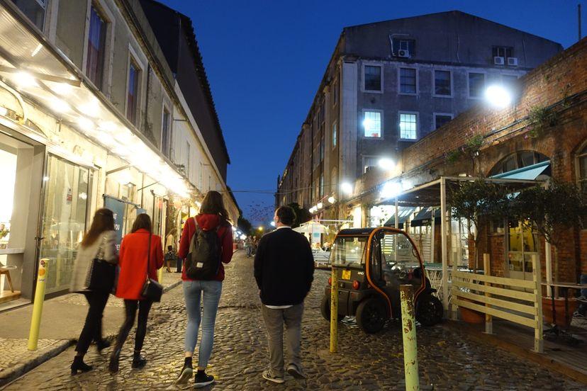 прогулка по Новому Лиссабону