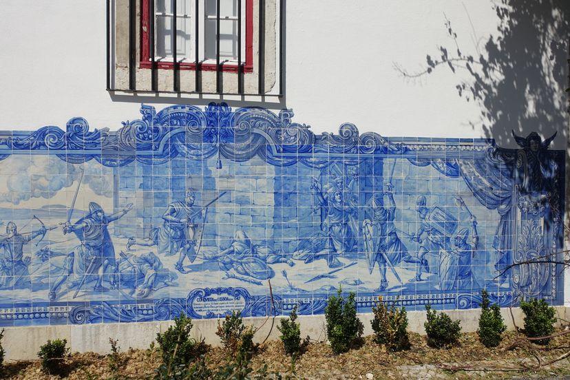 Азулежу в Лиссабоне