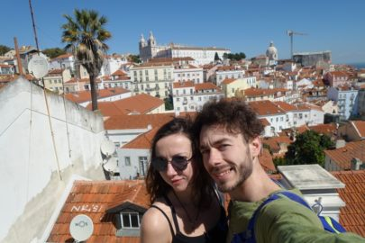 Крыши Лиссабона.