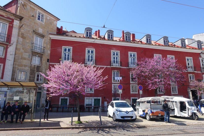 Лиссабон в середине марта