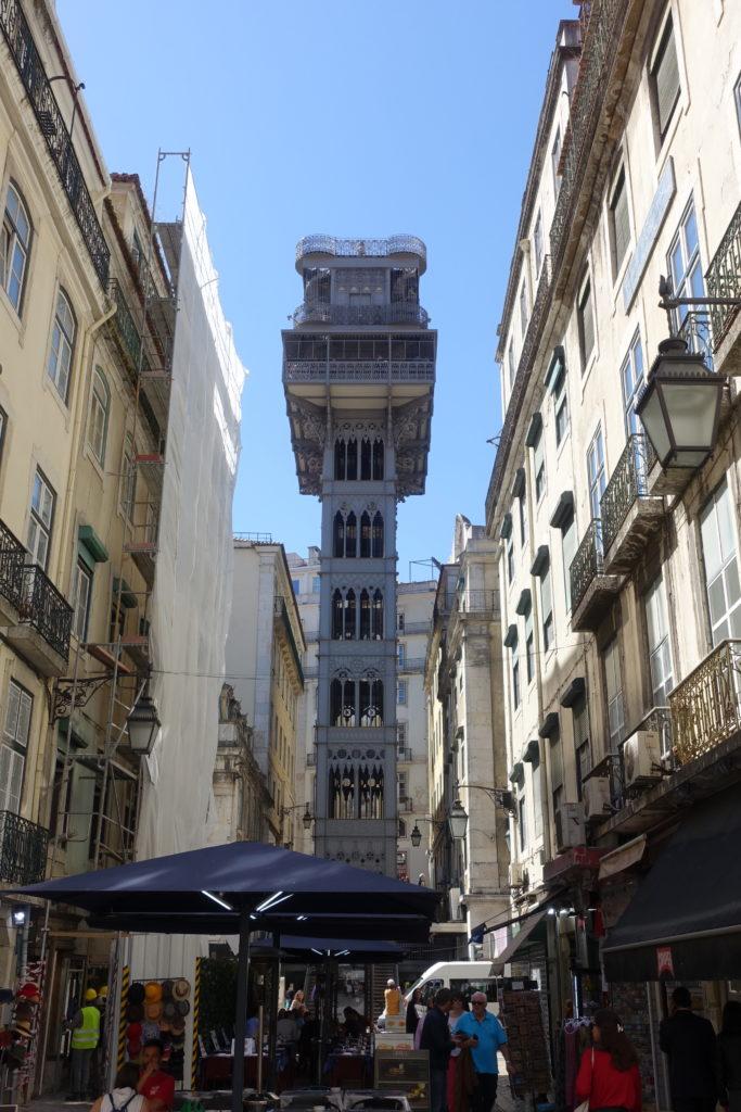 лифт Санта Хуста в Лиссабоне