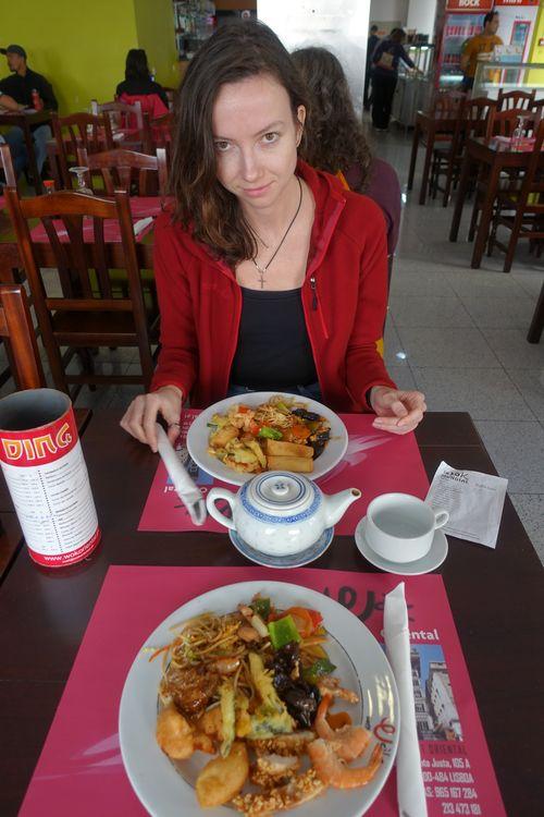 китайское кафе в Лиссабоне
