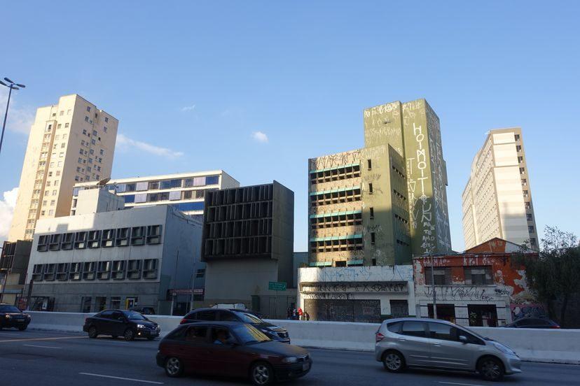 плохой район в Сан-Паоло