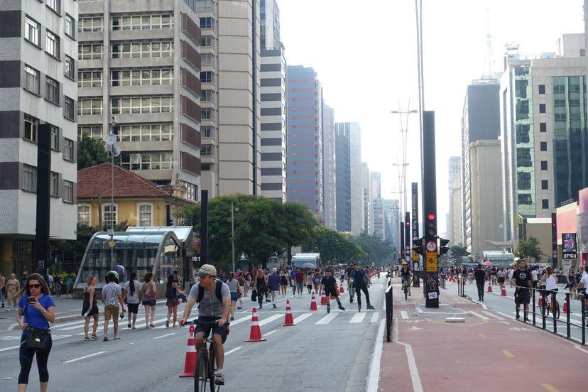 Сан-Паулу в воскресенье