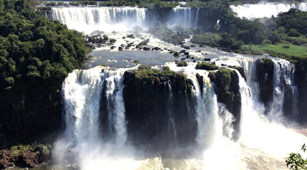 Водопады Игуасу (Бразилия + Аргентина)