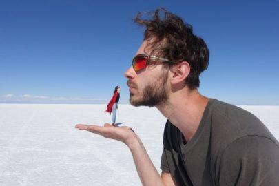 Самая большая соляная пустыня.