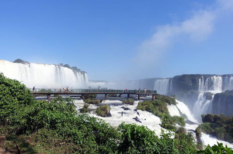 Водопады Игуасу - бразильская сторона