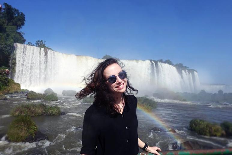 водопады Игуасу вдохновляют
