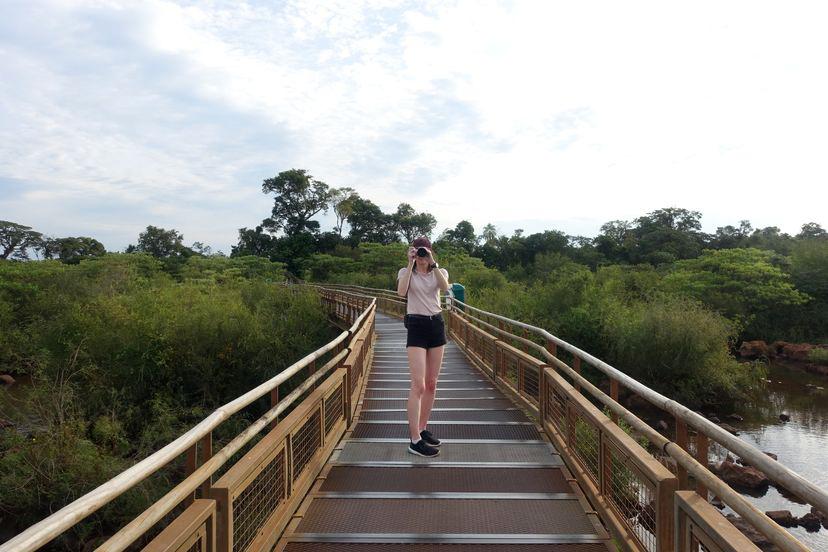 4 км троп на водопадах Игуасу