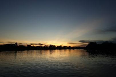 закат в Пантанале