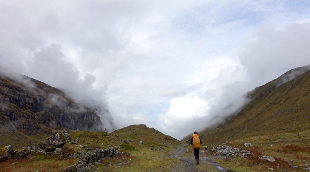 Трекинг по тропе инков El Choro в Боливии